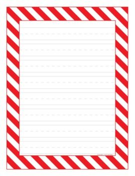 Christmas writing paper  Stationary  Christmas Background  Mary