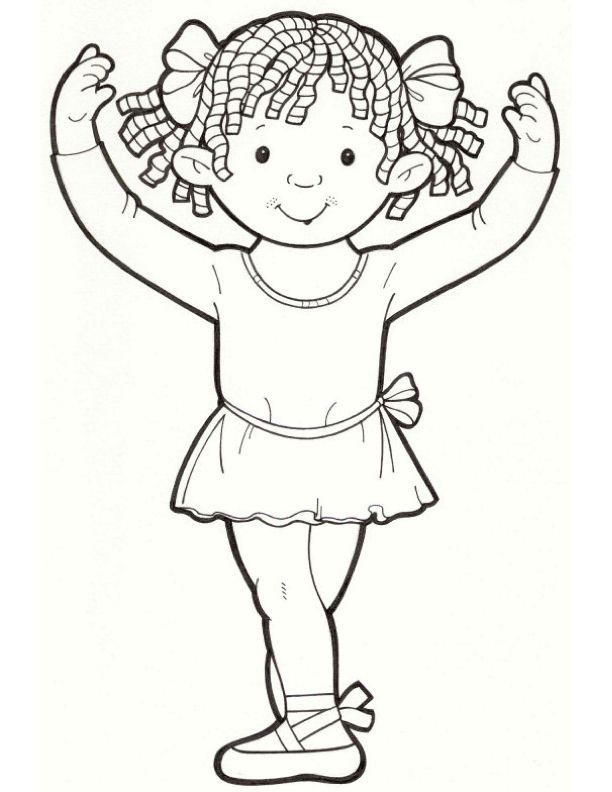 ballerina coloring pages Dance