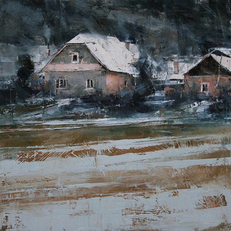 Home by tibor nagy oil 157 x 157