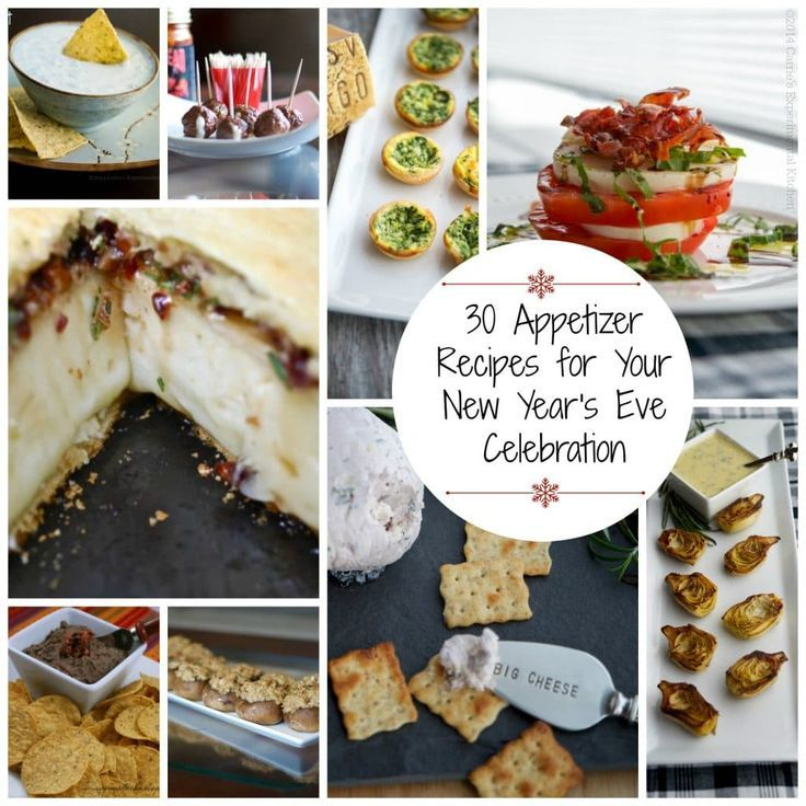 30 Appetizer Recipes for your New Year's Eve Celebration ...