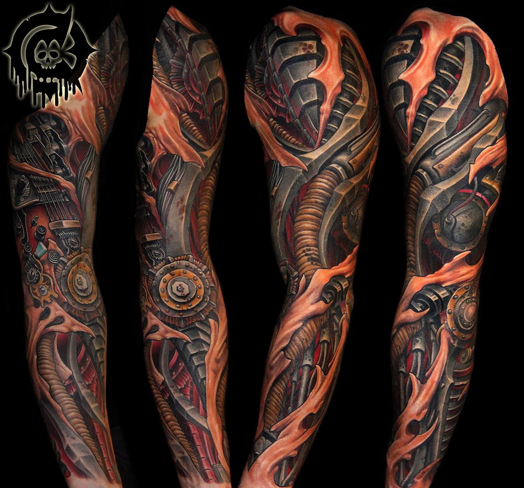 Images Of Biomechanical Tattoos: Pin Em Biomechanical Tattoo