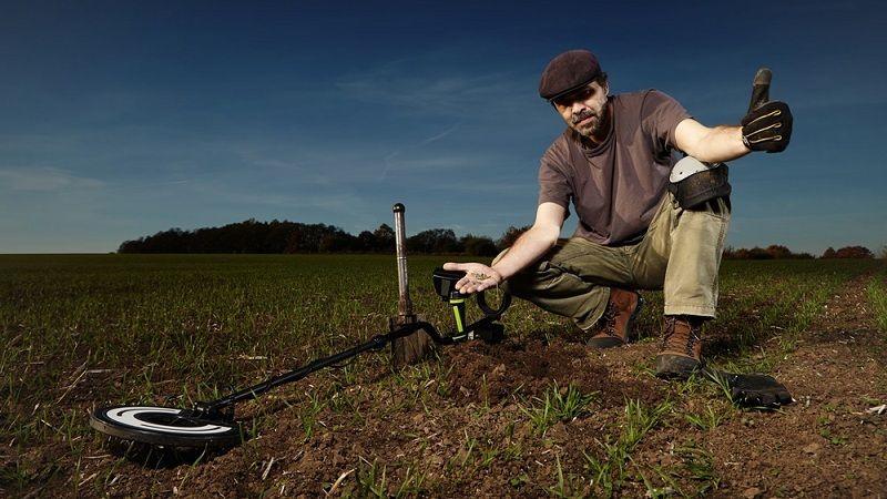 Bounty hunter gold digger metal detector review metal