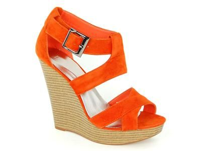 Orange wedges.  It's like they were designed especially for me.