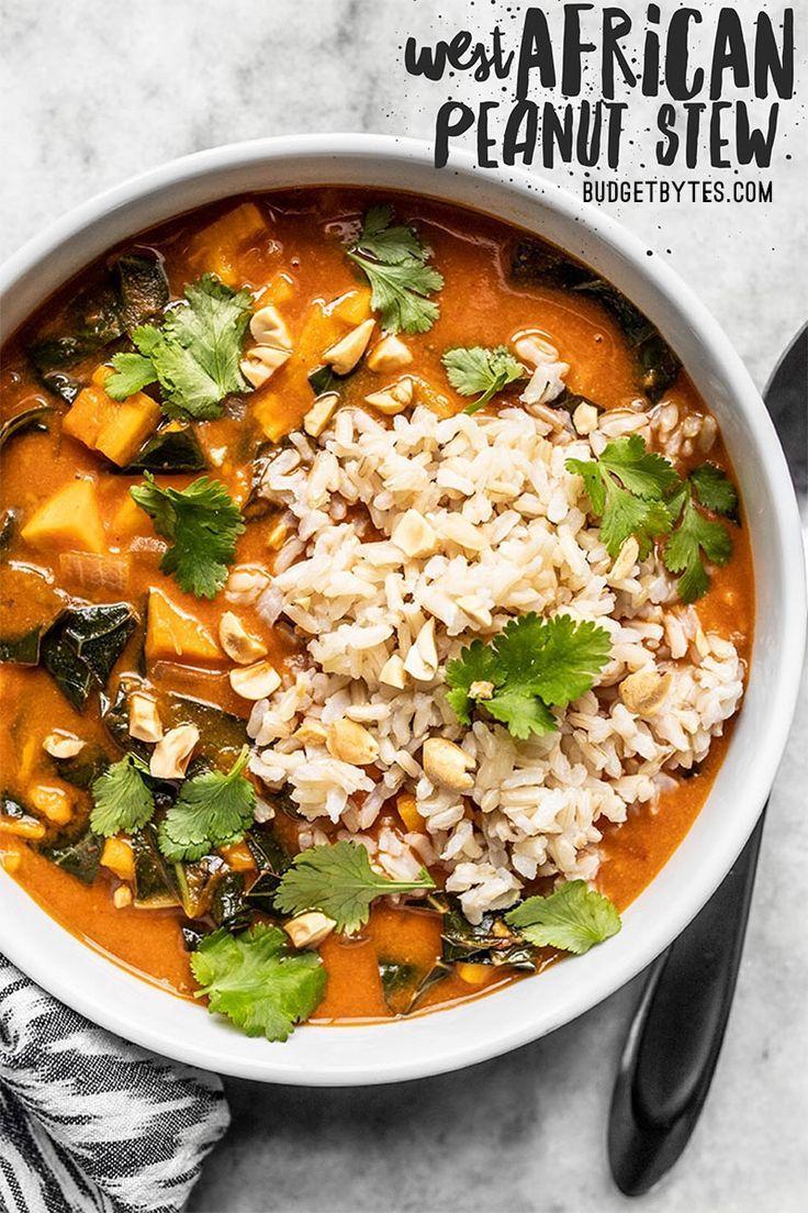 Vegan West African Peanut Stew #peanutrecipes