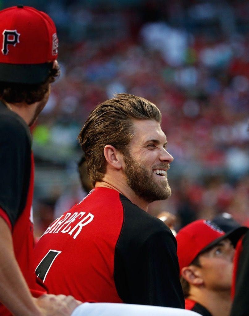 Gf Baseball Bryce Harper July 13 2015 Bryce Harper Baseball Haircuts Hot Baseball Players