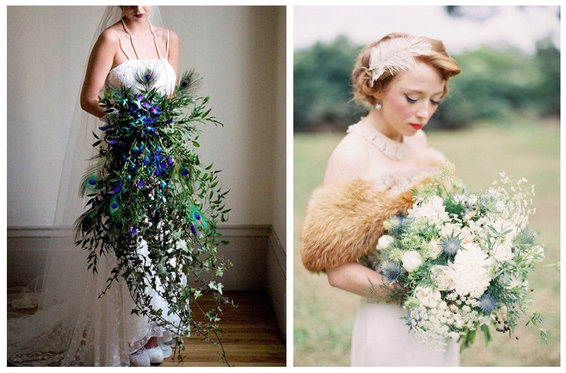 1920 S Inspired Bouquet Wedding