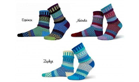 Solmate Mismatched Adult Cotton Socks