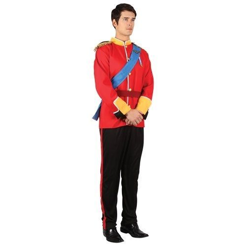 Mens Adult Royal Handsome Prince Charming Pantomime Panto Fancy