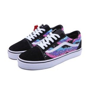 6529b5107a Vans Shoes Galaxy Old Skool Shoes Unisex Classic Canvas