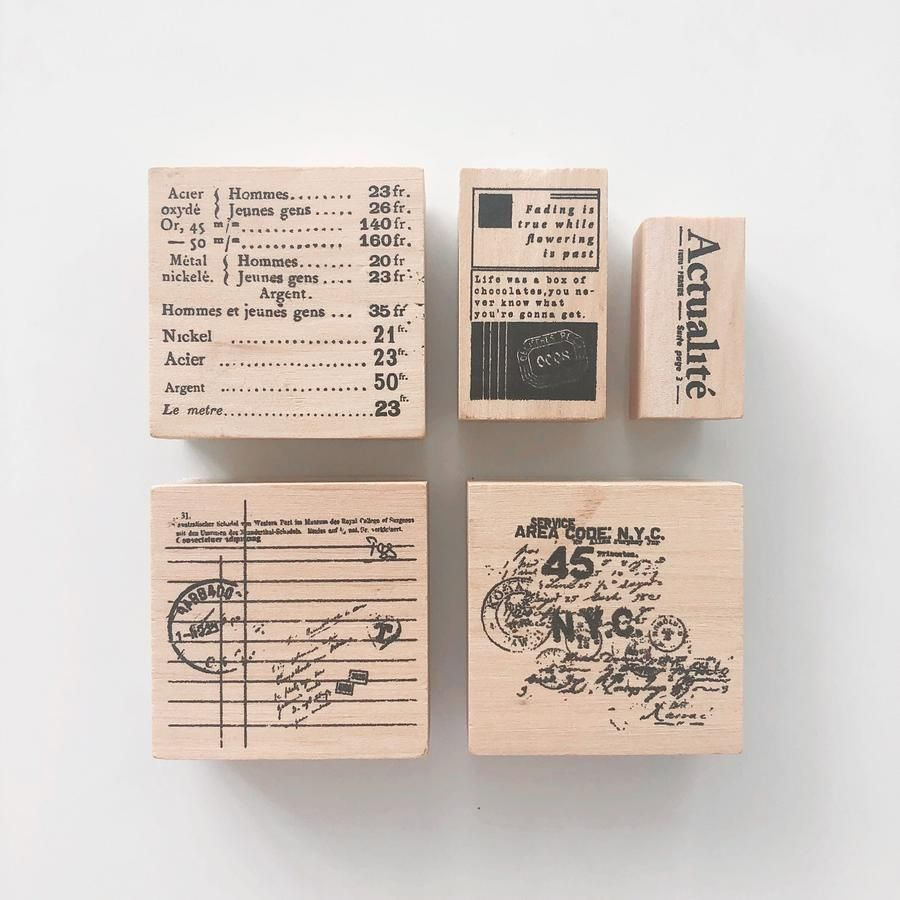 Journaling Rubber Stamp Stamp Rubber Stamps Wooden Stamps