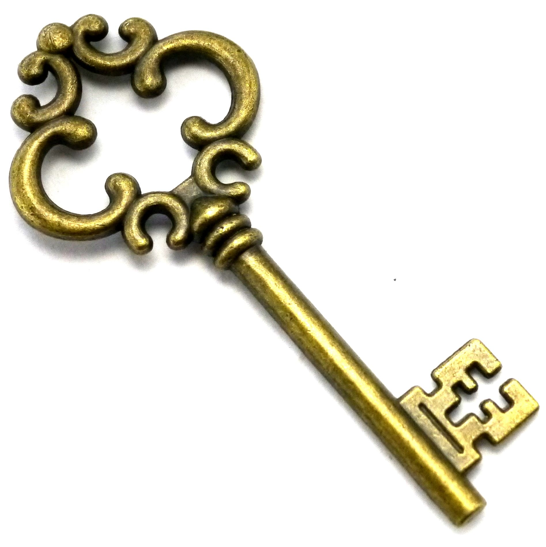 vintage old key classic to lock the doors clipart free