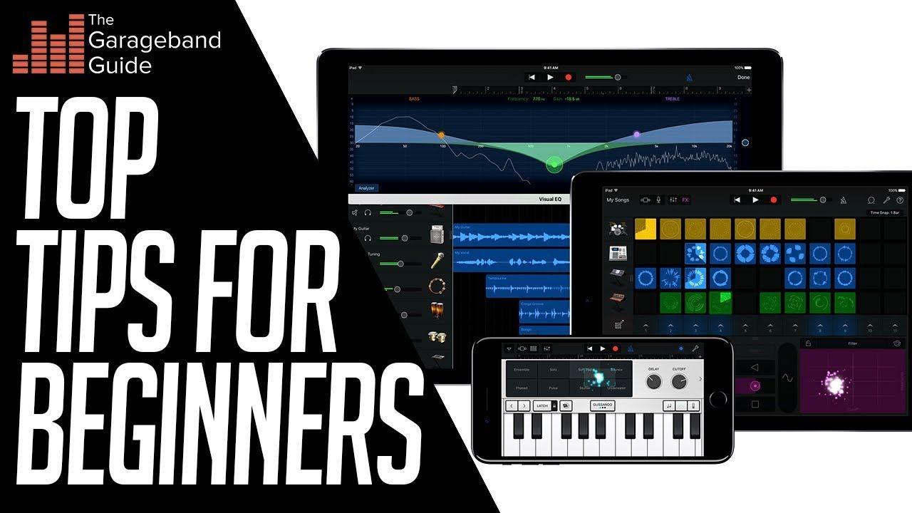 Garageband tutorial for beginners 2019 ipad and iphone
