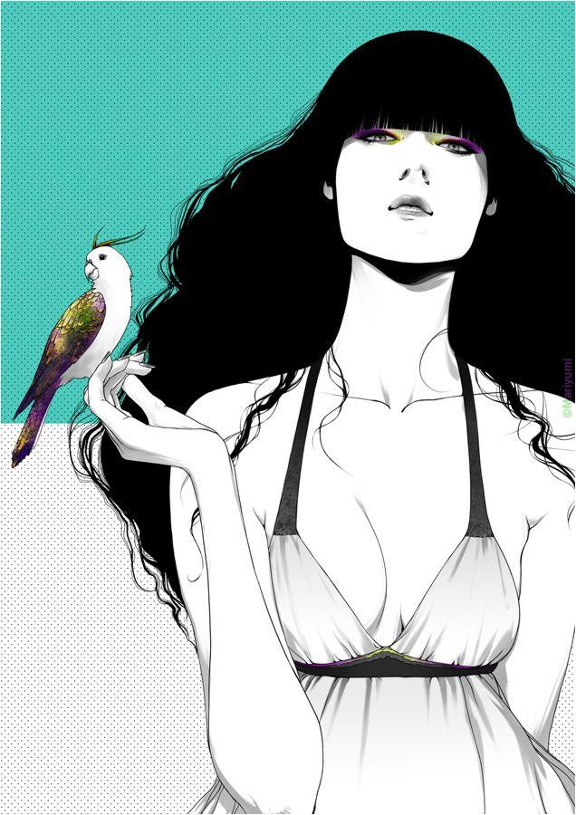 Mariyumi / put a bird on it