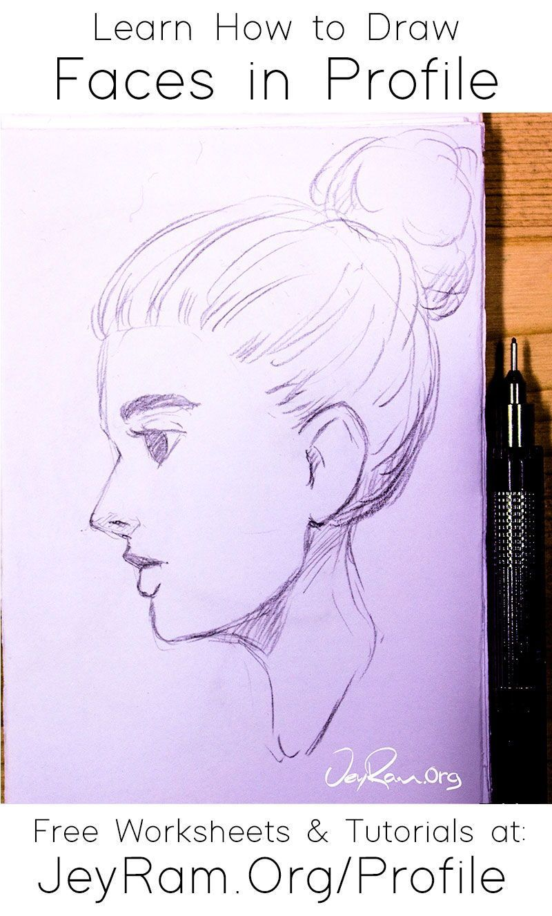 How To Draw Faces In Profile View In 2020 Face Drawing Drawings Drawing Tutorial