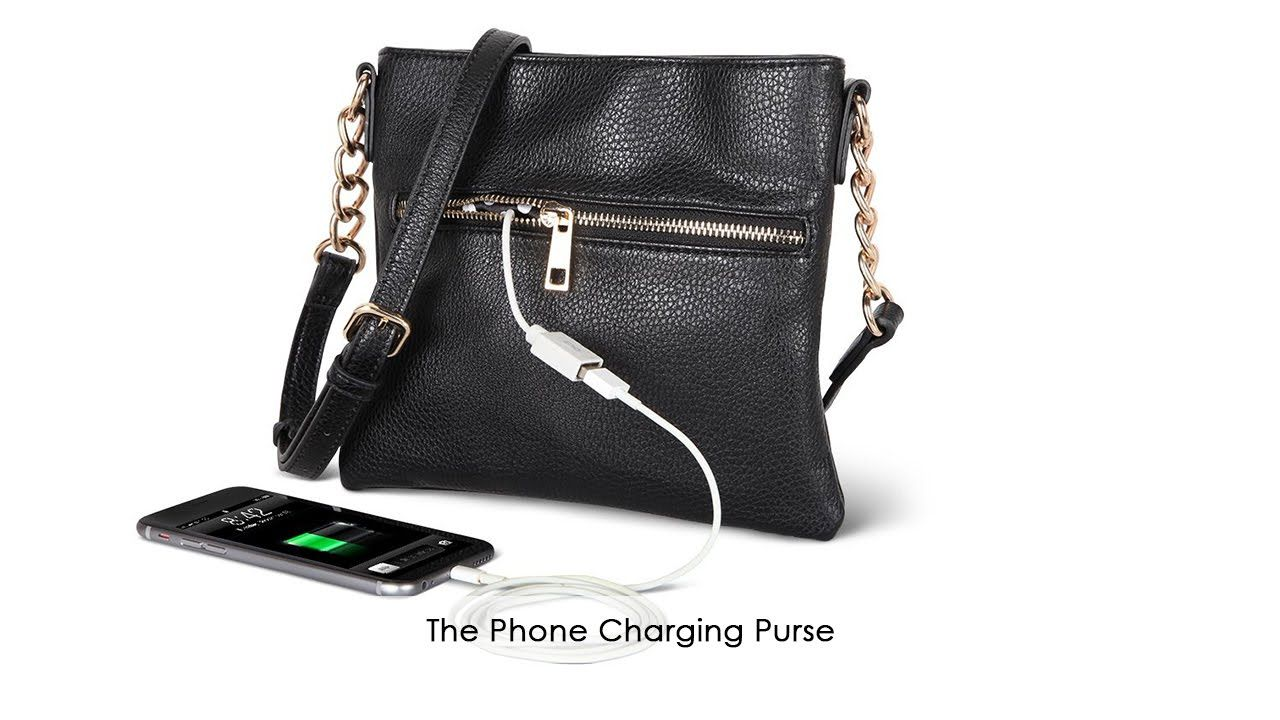 The Phone Charging Purse