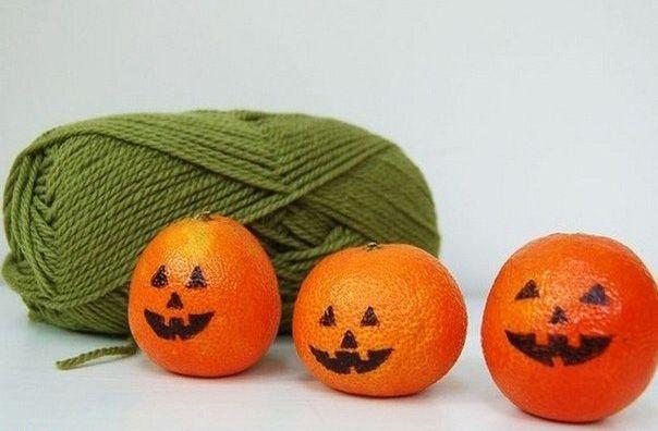 Картинки по запросу тыквы из апельсинов | Поделки на ...