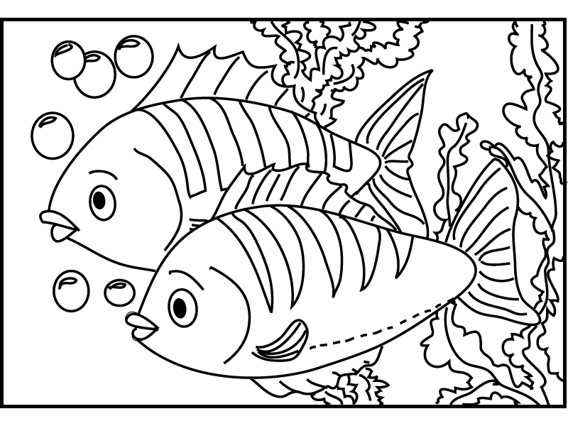 Fish Coloring Pages 114 272658 High Definition Wallpapers| wallalay ...