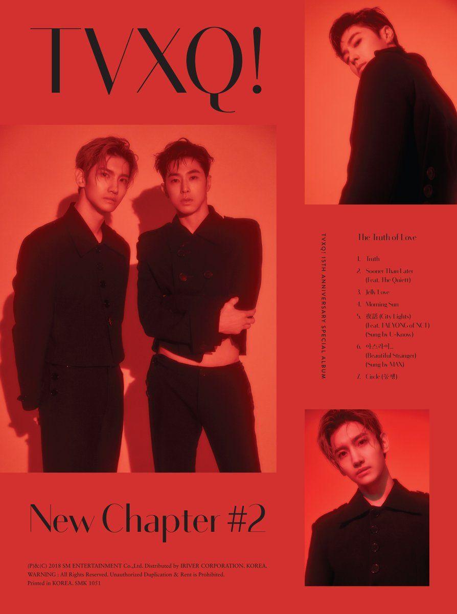 tvxq yunho changmin   Tvxq in 2019   Tvxq, New chapter, Tvxq