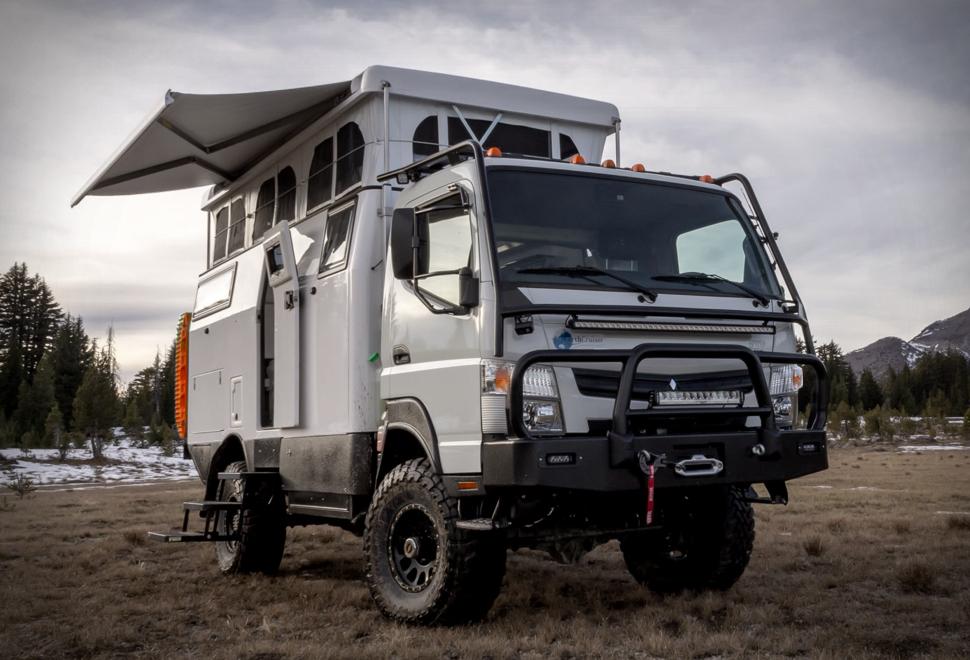 Earthcruiser Exp Camper In 2020 Medium Duty Trucks Overland Vehicles Vehicles
