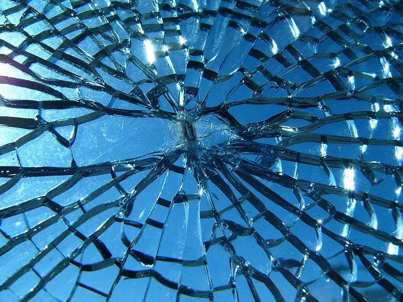 Broken glass Order and Disorder- imagination/colour Pinterest