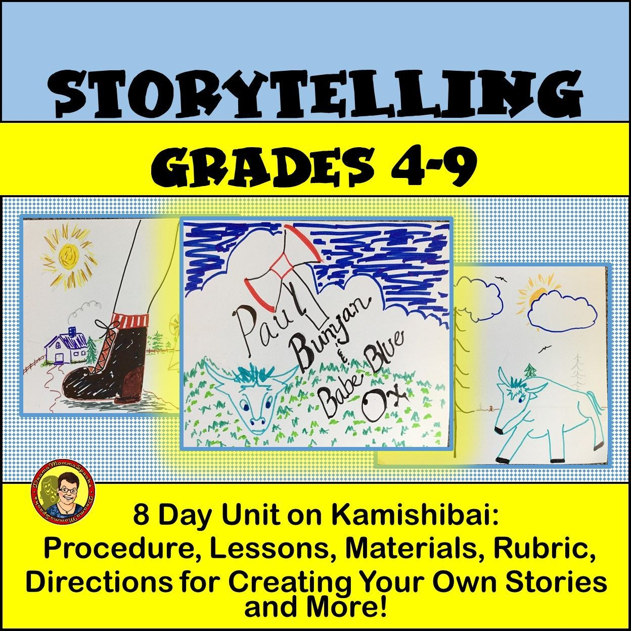 Storytelling Plus Student Created Illustrations Equals Great Learning And Fun Check It Out Teaching Reading Comprehension Student Created Drama Education