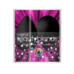 Two Black Beauty Blenders In Canister