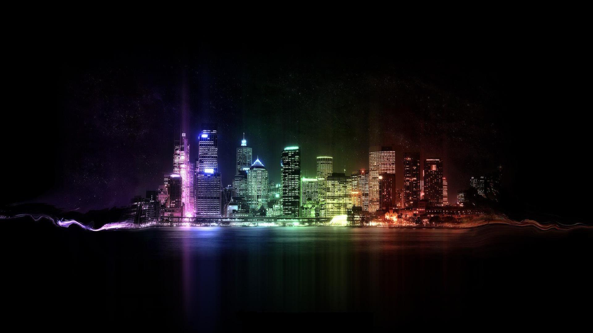 Really Cool Desktop Wallpapers Best Wallpaper Hd City Wallpaper Cool Backgrounds Rainbow City