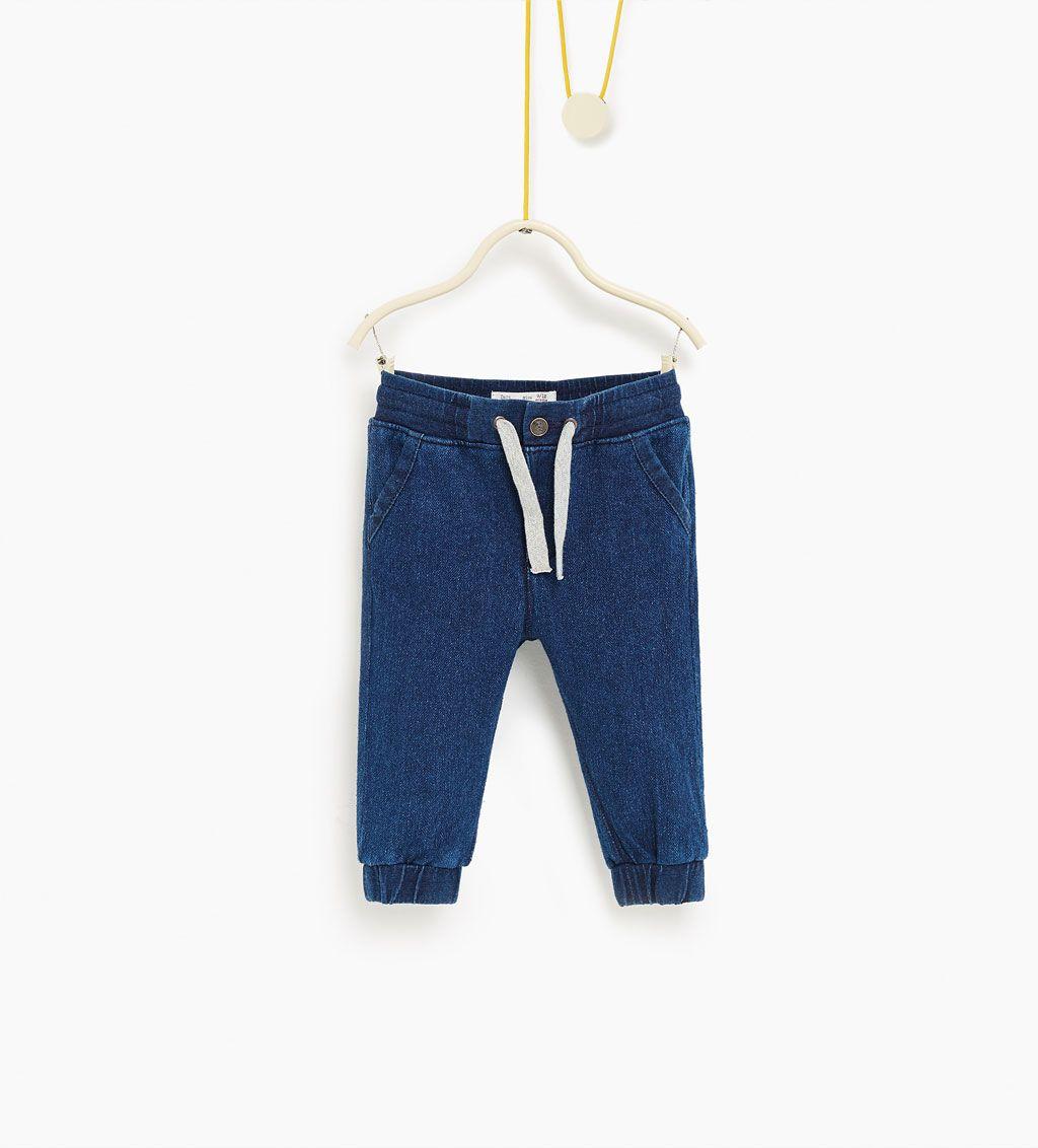 Pantalón denim jogger