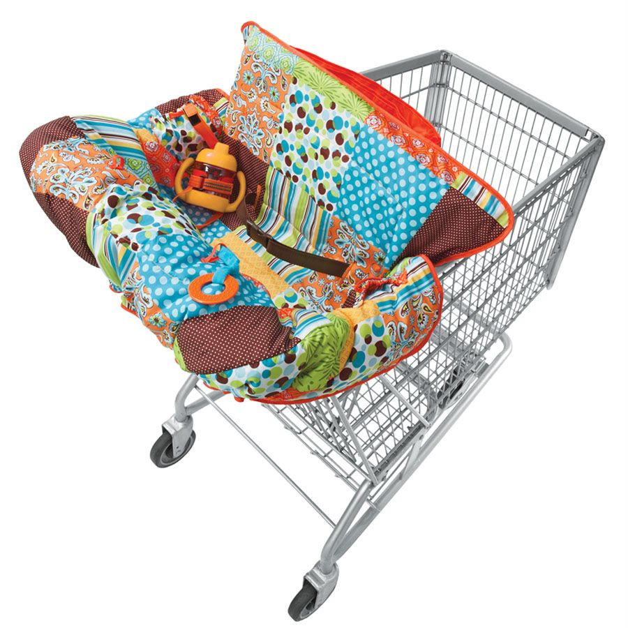 Compact Aqua With Images Cart Cover Baby Shopping Cart