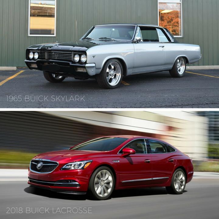 2019 Buick Cascada Interior: #TBT: 1965 Buick Skylark Vs. 2018 Buick LaCrosse