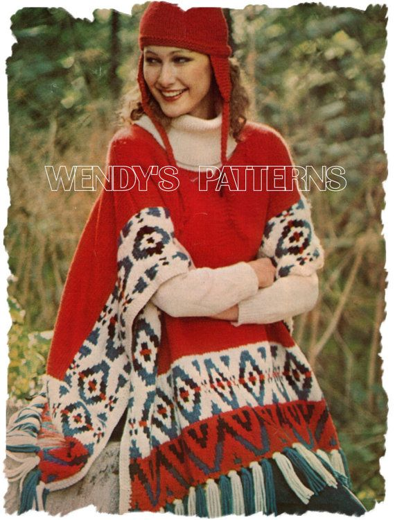 Instant Download Pdf Knitting Pattern To Make A By Yesterdaysmagic