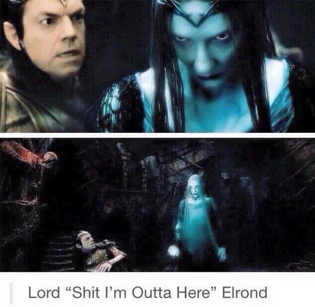 Elrond is not down