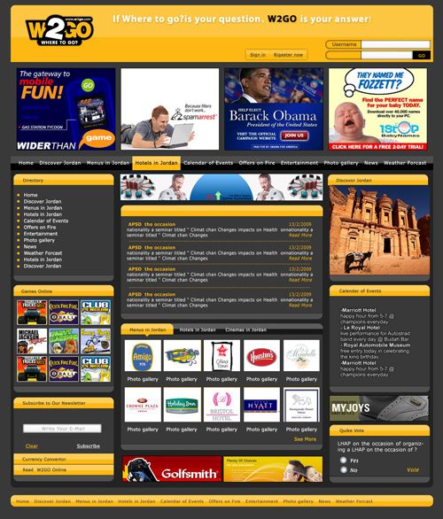 Oriental CIS ( W2go Website Design )