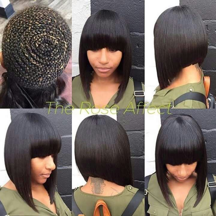 Pin By Rhonda Gaynor On It S Just Hair Weave Bob Hairstyles Weave Hairstyles Quick Weave Hairstyles