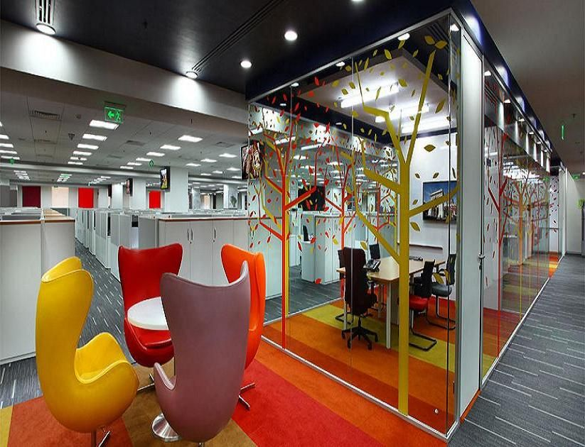 synergy corporate interiors pvt ltd is a top office interior design