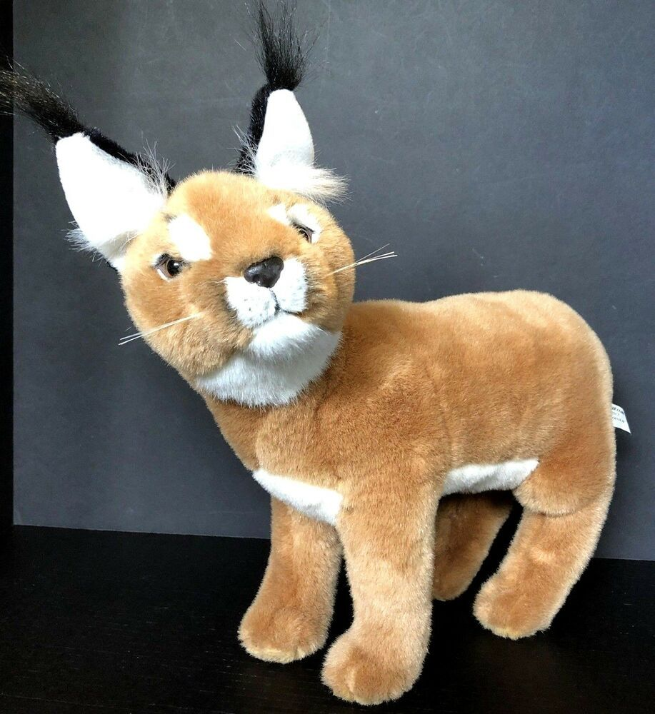 Find Many Great New Used Options And Get The Best Deals For The Nature Company Bobcat Plush Stuff Pet Holiday Realistic Stuffed Animals Plush Stuffed Animals