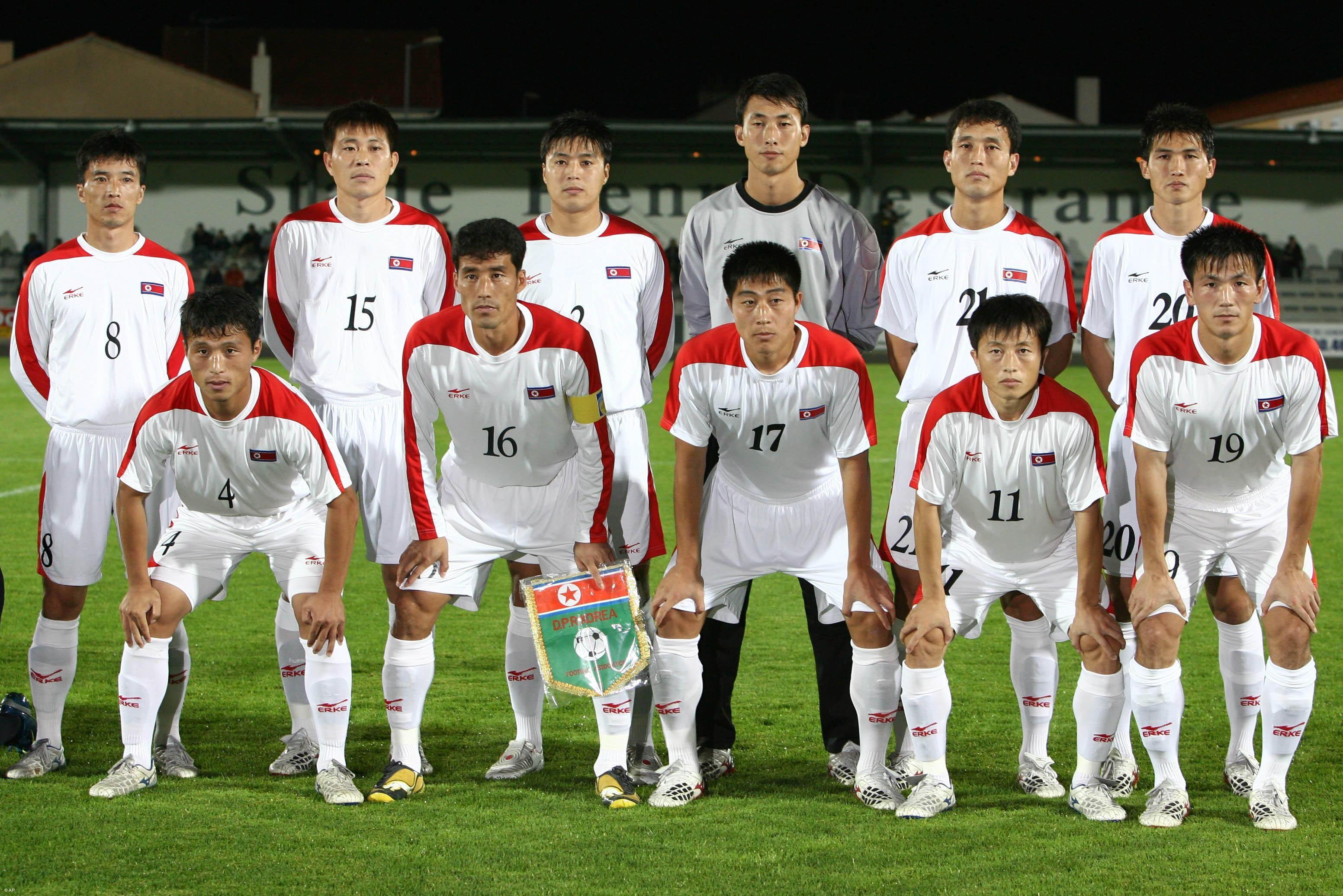 North Korean Football Team, World Cup 2010 | Best Sports ...