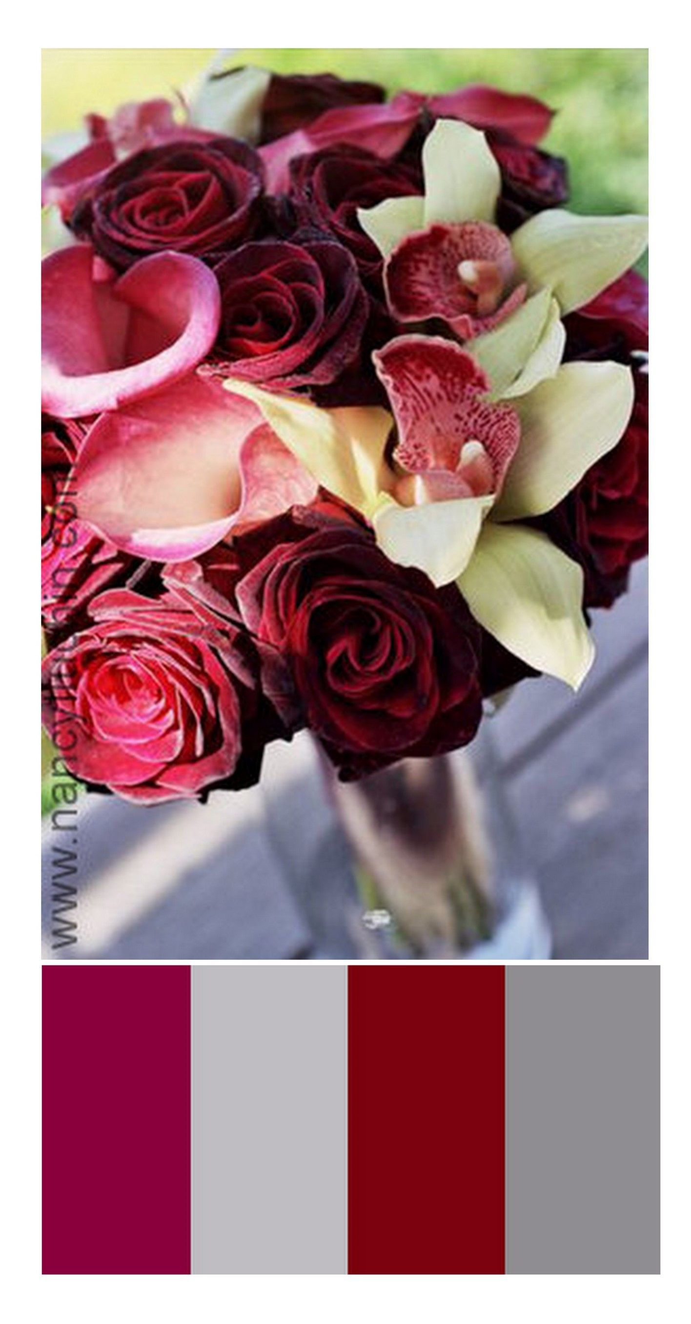decorating burgandy color palette | Wedding color palettes, wedding ...