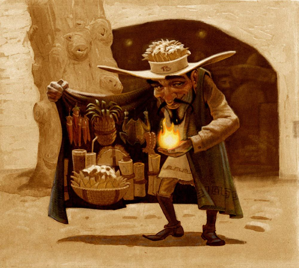 Jim Madsen Illustration: Mexican Food