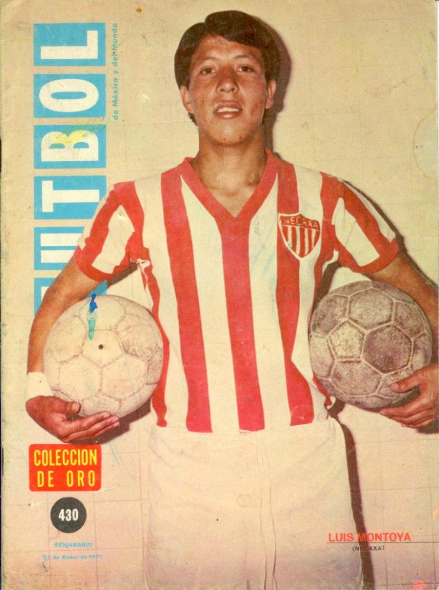 """Luis """"Huesos"""" Montoya Los Goleadores"""