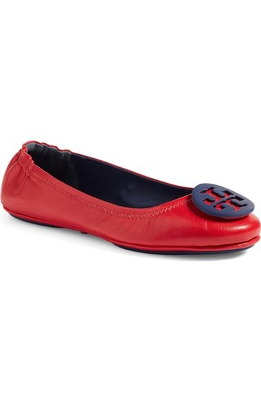 2e728b747 TORY BURCH  Minnie  Travel Ballet Flat (Women).  toryburch  shoes  flats