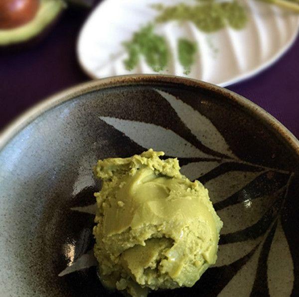 Matcha Avocado Ice CreamAuthor: Moinca -Visit Www