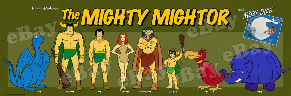 Threatens, moby dick and mighty mightor think your