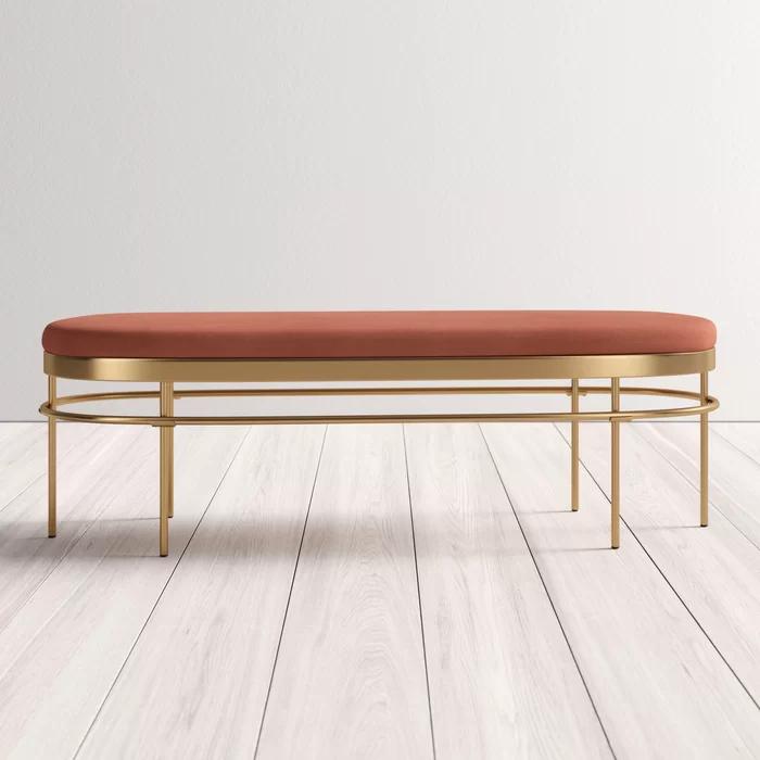 Rainn Upholstered Bench Reviews Allmodern In 2020 Upholstered Bench Modern Furniture Living Room Upholster #upholstered #benches #for #living #room