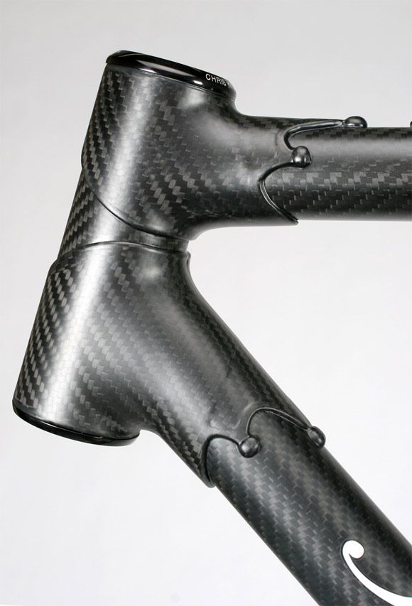 Prototype Carbon Fiber Bicycle Frame From Independant