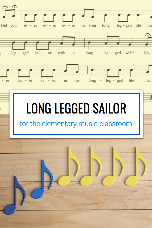 Long Legged Sailor | Music Education | Music education games