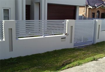 For my fence on pinterest fence design house design and - Verjas de madera ...