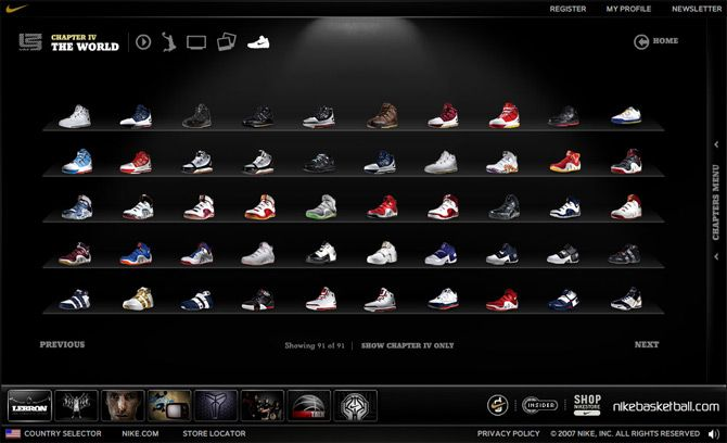nike basketball shoes gallery