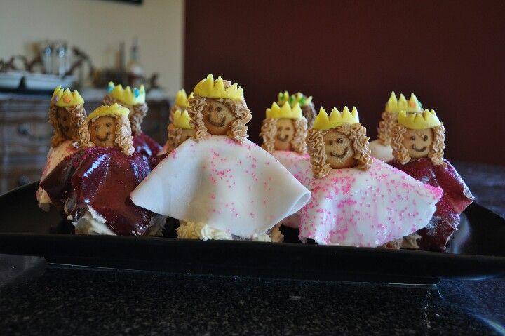 Princess cupcakes for my little princess!