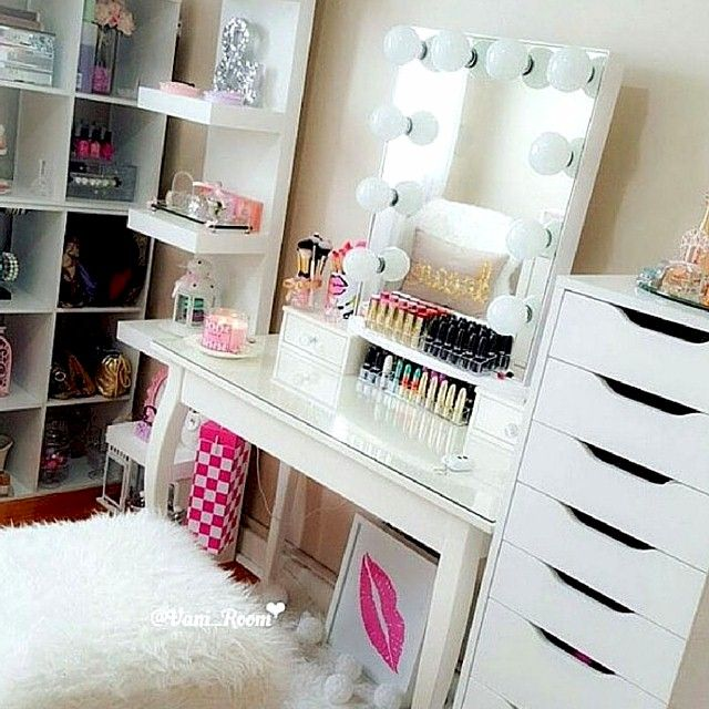 Awesome Makeup Vanity⚜buffyvs⚜ Beauty Room Room Planner